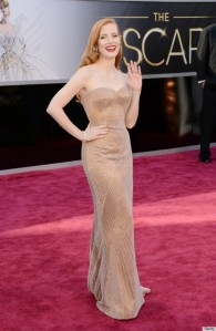 Jessica Chastain Photo Credit: The Huffington Post