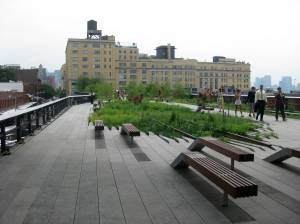 NYC's High Line (photo credit: manhattan.about.com )