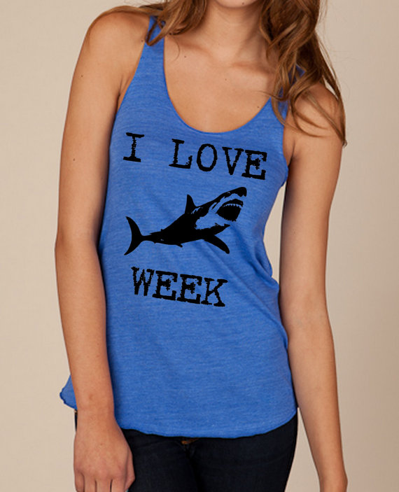 Shark week fashion ny social status for Shark tank t shirt printing