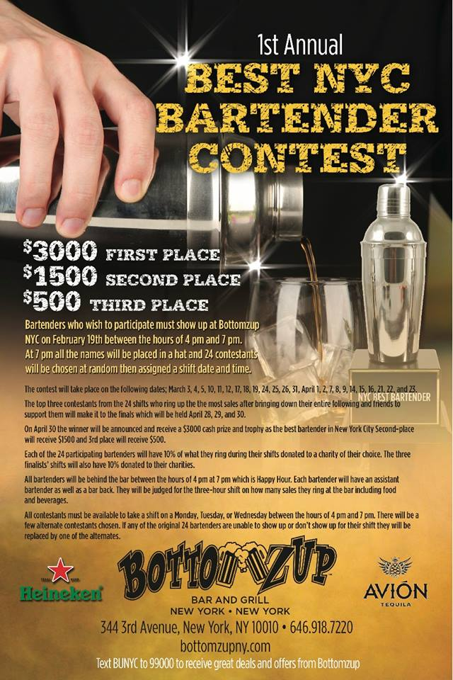 BestBartenderNYCContest